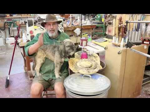 Dealing with Mold in Wooden Bowls:    woodturning with Sam Angelo