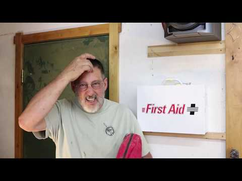 What\'s in your First Aid Kit?:  Quick tip Tuesday On Shop Safety  Sam Angelo