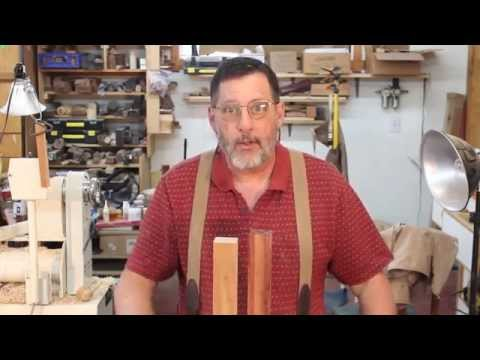 FINDING the  Center of a Turning Blank (woodturning)