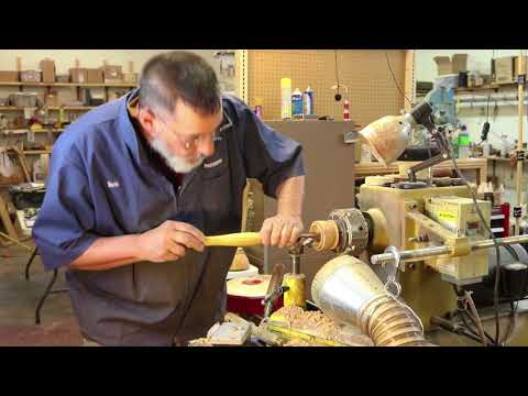 Turning what you cannot see!  Woodturning with Sam Angelo
