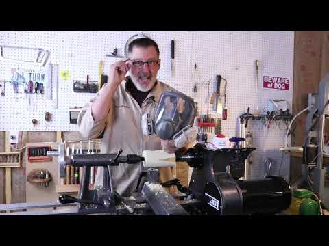 Wood Turning Tip #3- How to keep Dust OUT of your lungs in the workshop    Sam Angelo
