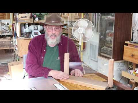 Safety Shield for a Wood Lathe with Sam Angelo