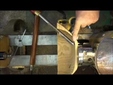Completing a Rough-Turned Bowl on the Wood Lathe