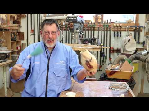 Sanding tip from the AAW in KC ,   Sam Angelo  wyomingwoodturner